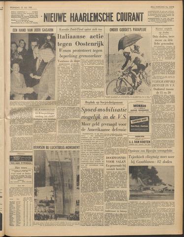 Nieuwe Haarlemsche Courant 1961-07-12