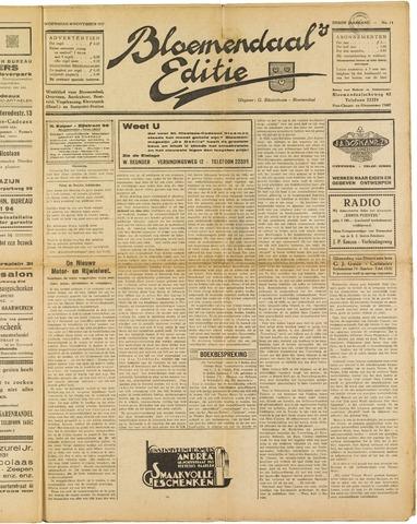 Bloemendaal's Editie 1927-11-30