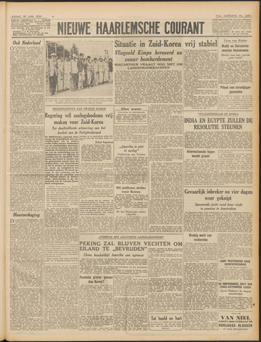 Nieuwe Haarlemsche Courant 1950-06-30
