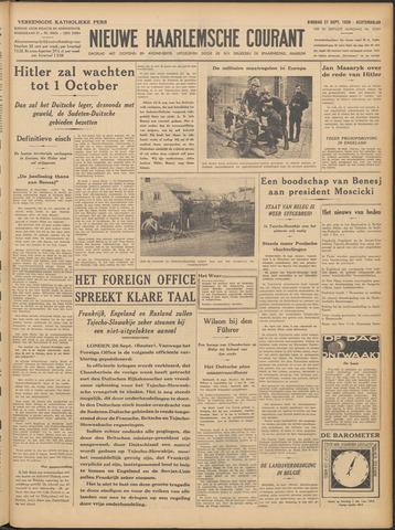 Nieuwe Haarlemsche Courant 1938-09-27
