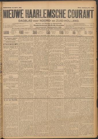 Nieuwe Haarlemsche Courant 1910-09-22