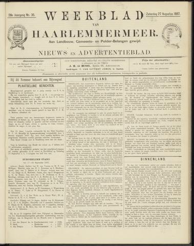 Weekblad van Haarlemmermeer 1887-08-27