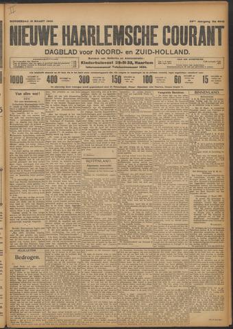 Nieuwe Haarlemsche Courant 1909-03-18