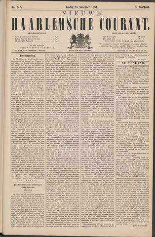 Nieuwe Haarlemsche Courant 1883-11-25