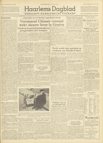 Haarlem's Dagblad 1954-06-17