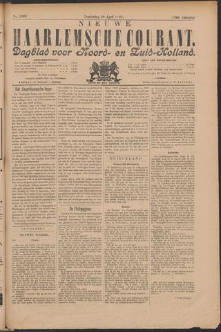 Nieuwe Haarlemsche Courant 1898-04-28