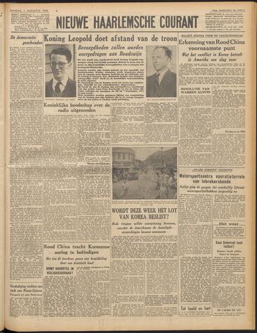 Nieuwe Haarlemsche Courant 1950-08-01