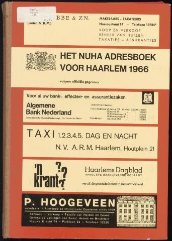 Adresboeken Haarlem 1966-01-01