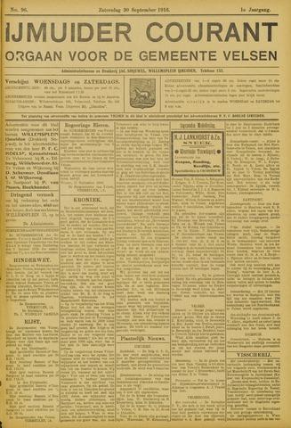 IJmuider Courant 1916-09-30