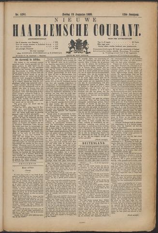 Nieuwe Haarlemsche Courant 1888-08-19