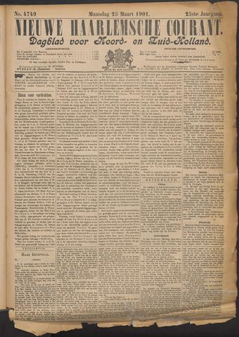 Nieuwe Haarlemsche Courant 1901-03-25