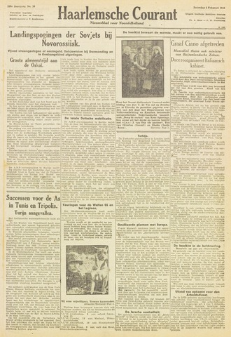 Haarlemsche Courant 1943-02-06