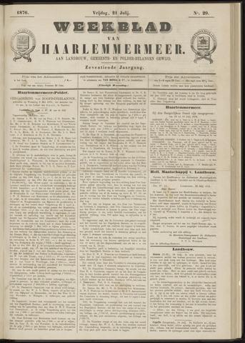 Weekblad van Haarlemmermeer 1876-07-21