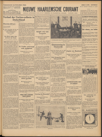 Nieuwe Haarlemsche Courant 1937-04-25