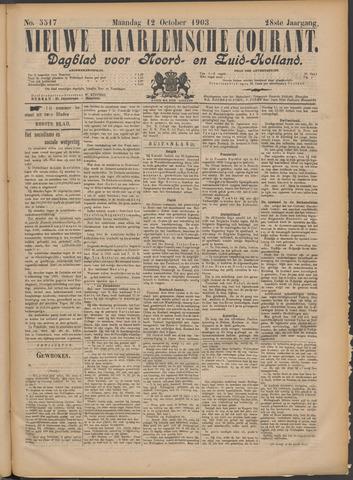 Nieuwe Haarlemsche Courant 1903-10-12