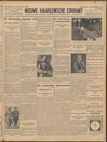 Nieuwe Haarlemsche Courant 1935-09-04