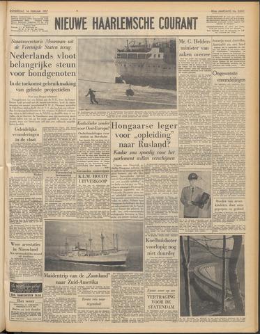 Nieuwe Haarlemsche Courant 1957-02-14