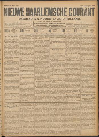 Nieuwe Haarlemsche Courant 1909-09-21
