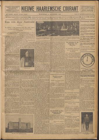 Nieuwe Haarlemsche Courant 1928-11-14