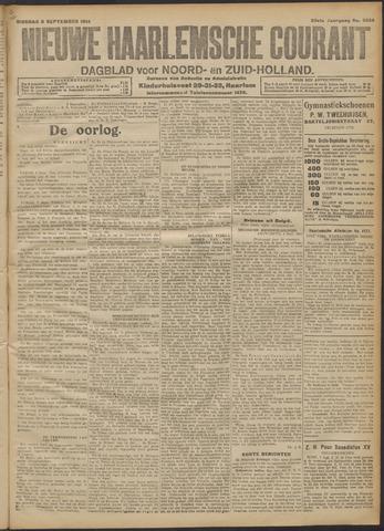 Nieuwe Haarlemsche Courant 1914-09-08