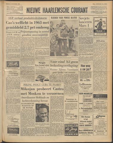 Nieuwe Haarlemsche Courant 1962-11-02