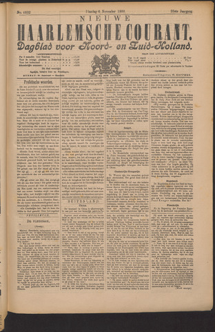 Nieuwe Haarlemsche Courant 1900-11-06