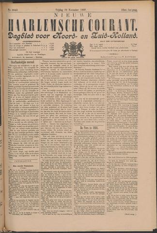 Nieuwe Haarlemsche Courant 1897-11-26