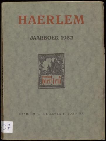 Jaarverslagen en Jaarboeken Vereniging Haerlem 1932