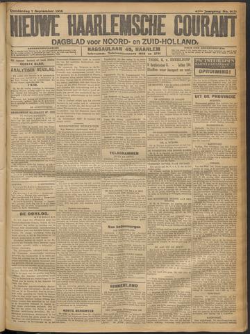 Nieuwe Haarlemsche Courant 1916-09-07