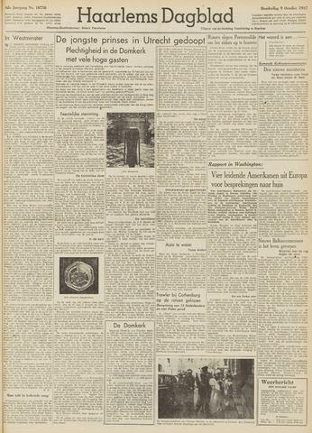 Haarlem's Dagblad 1947-10-09