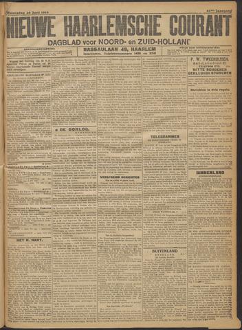 Nieuwe Haarlemsche Courant 1916-06-28