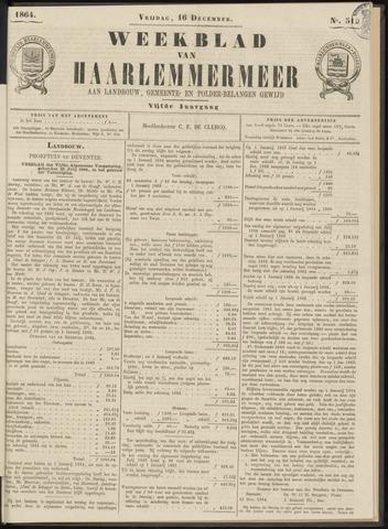 Weekblad van Haarlemmermeer 1864-12-16