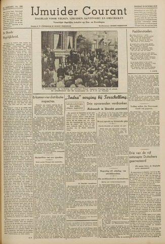IJmuider Courant 1939-10-10