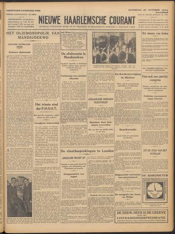 Nieuwe Haarlemsche Courant 1934-10-27