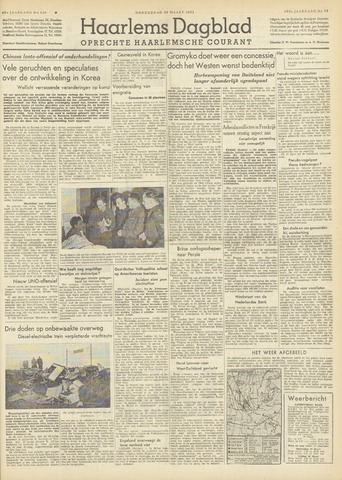 Haarlem's Dagblad 1951-03-29