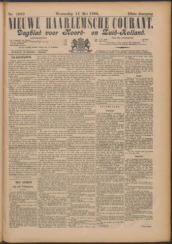 Nieuwe Haarlemsche Courant 1904-05-11