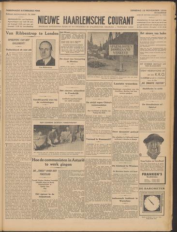 Nieuwe Haarlemsche Courant 1934-11-13