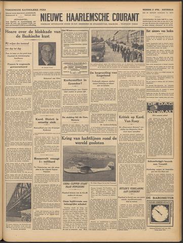 Nieuwe Haarlemsche Courant 1937-04-21