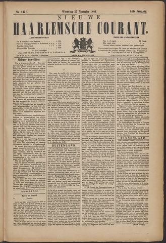 Nieuwe Haarlemsche Courant 1889-11-27