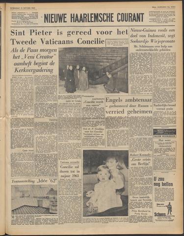 Nieuwe Haarlemsche Courant 1962-10-10