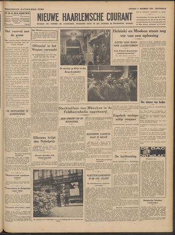 Nieuwe Haarlemsche Courant 1939-11-11