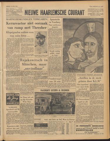 Nieuwe Haarlemsche Courant 1963-04-12
