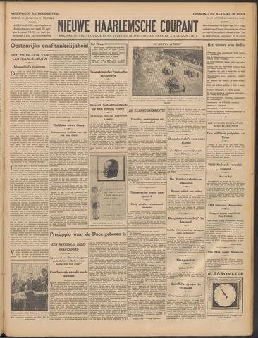 Nieuwe Haarlemsche Courant 1933-08-22