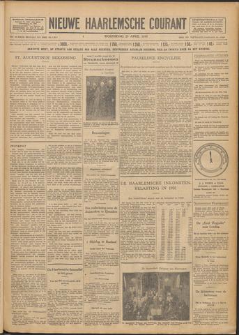 Nieuwe Haarlemsche Courant 1930-04-23