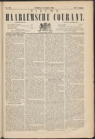 Nieuwe Haarlemsche Courant 1886-01-28