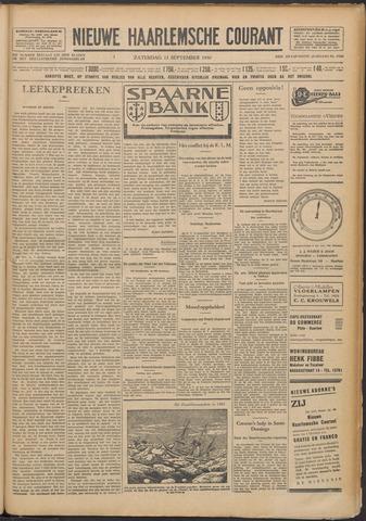 Nieuwe Haarlemsche Courant 1930-09-13
