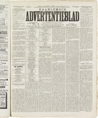 Haarlemsch Advertentieblad 1882-09-09