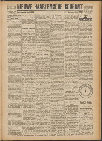 Nieuwe Haarlemsche Courant 1922-07-22