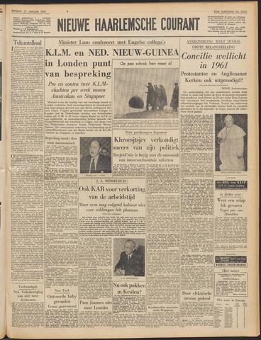 Nieuwe Haarlemsche Courant 1959-01-27