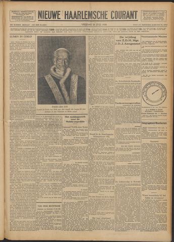 Nieuwe Haarlemsche Courant 1928-07-20